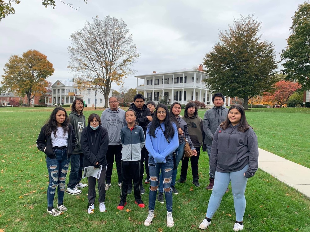 Student visit Carlisle Indian School