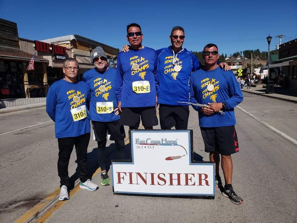 TCHS 1984 Cross County State Champions Competed in Run Crazy Horse Marathon