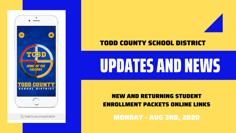New and Returning Student Enrollment Packets Download