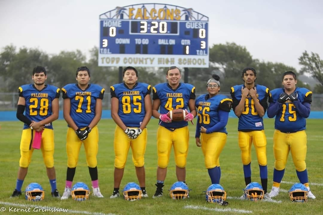 TC Falcon Football Seniors 2019